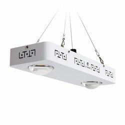 Regulable de espectro completo LED COB LED crecer luz CREE CXB3590 200 W 26000LM = HPS 400 W creciente lámpara de planta de interior el crecimiento de la iluminación del Panel