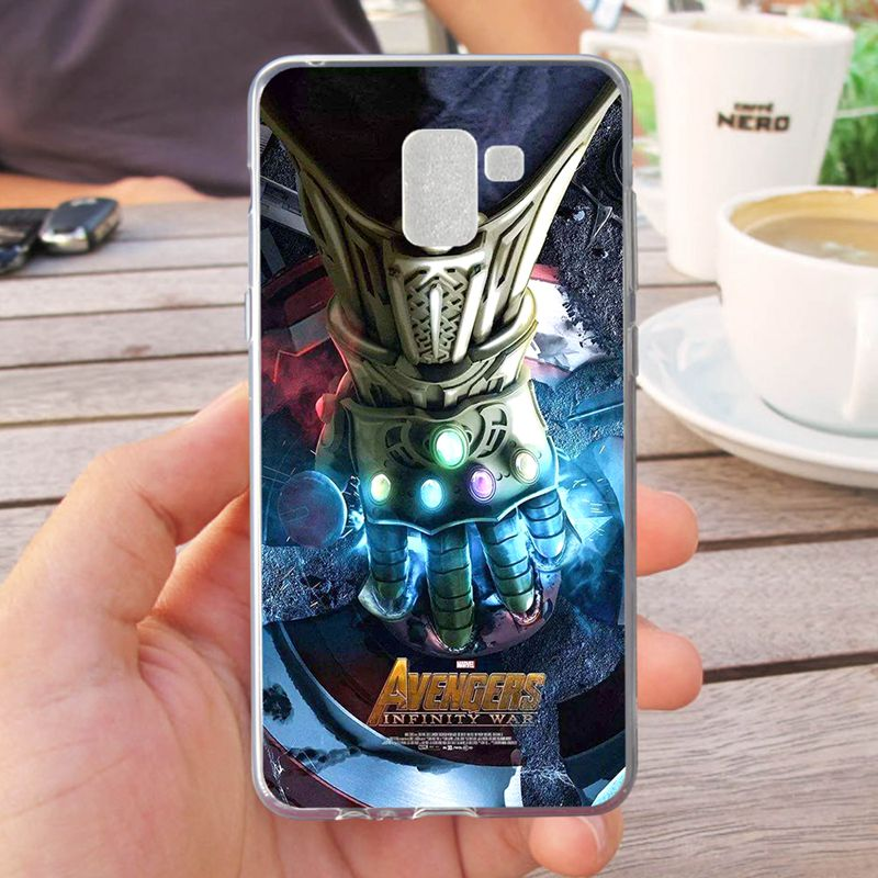Mutouniao Avengers Design 2 Silicon Soft TPU Case Cover For font b Samsung b font Galaxy