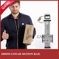 Бесплатная доставка 100 мм ход шариковый винт с чпу линейной направляющей для лазерной резки
