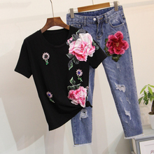 Women floral two piece