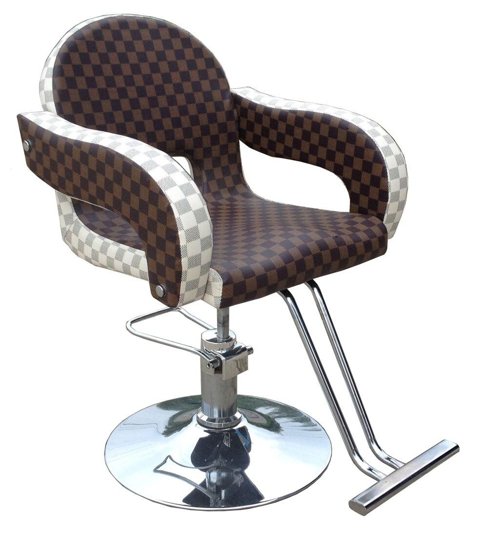 Friseursalons Haarschnitt Hocker Hydraulische Stühle StoßFest Und Antimagnetisch 100% QualitäT Friseur Mode Herrenfriseurstuhl Rotierende Heben Stuhl 865 B Wasserdicht