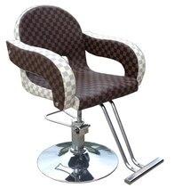 Hairdressing fashion barber chair. Hair salons haircut stool. Hydraulic chairs. Rotating lifting chair 865 b