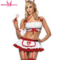 Hot Sexy Adult Women White Nurse Costume Halloween Outfit Dress Lingerie aughty Costume Fancy Dress Uniform Cosplay W2928