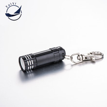 [TAIYI]2016 New Aluminium Alloy Mini Flashlight  3 Led Flashlight Torch High Power Led Keychain  Top Quality