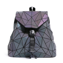 Bao Women Zipper Backpack Pearl Bag Diamond Lattice Geometry Quilted Sac Bags Ladies Famous Brands For Teenage girl