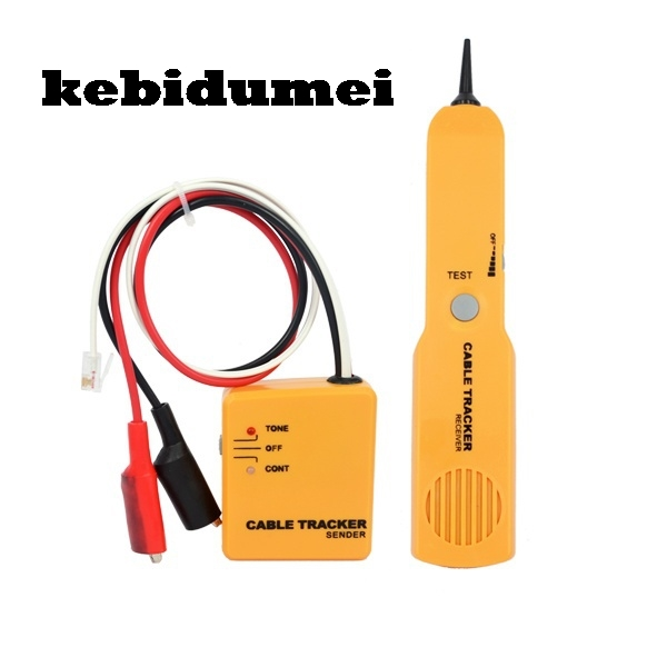 kebidumei RJ11 Network Cable Telephone Tel Phone Wire Finder Tracker ...