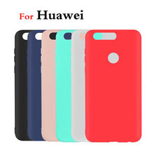 Ultra Thin Silicone TPU Soft Cases Huawei P9 Lite 2017 P10 P20 Lite P20 Plus Nova 2 2i Honor 6C 6A 7X 7A 8 9 Honor 10 lite case(China)
