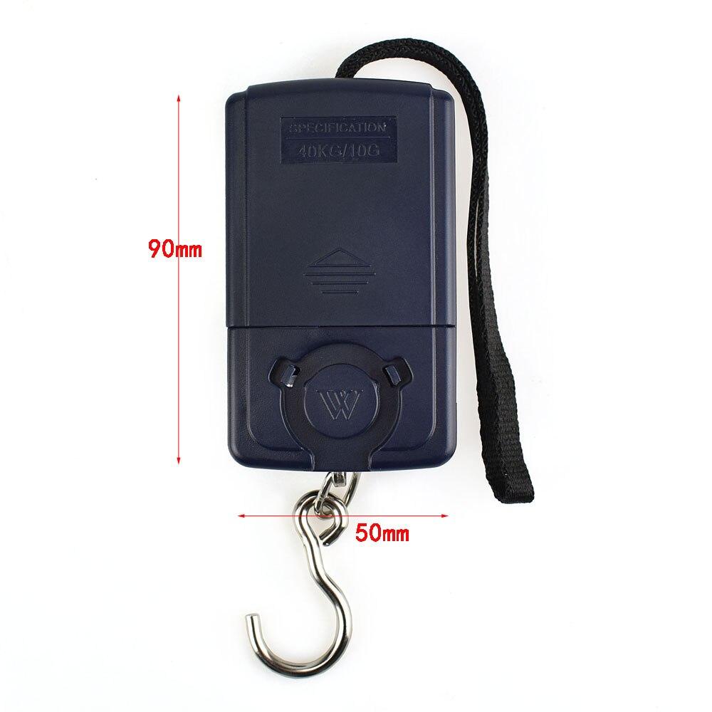 Bilancia pesapersone digitale portatile NEWACALOX da 40 kg / 88 - Strumenti di misura - Fotografia 6