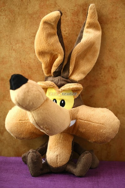 Fancytrader 13'' 32cm Limited Edition! Copyrighted Plush Stuffed Coyote Wolf, FT90376