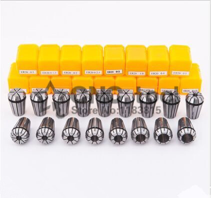 19PCS for Choose ER ER32 2 20mm Collet Chuck for Spindle Motor Engraving Grinding Milling Boring