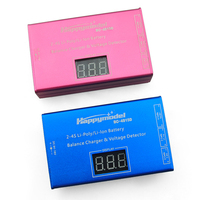 BC4S15D 2 4S Battery Balance Charger & Voltage Detector Charging Adapter with LCD Display for 2S/3S/4S LiPo Li ion Battery
