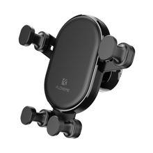 Универсальный вращающийся на 360 градусов гравитационный Автомобильный держатель для вентиляционного отверстия держатель для мобильного телефона Треугольный Кронштейн для стабильности