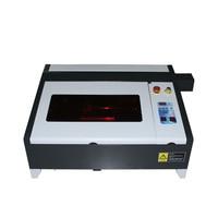 LY 4040 50 Вт CO2 лазерная гравировка мини Штамп Лазерная гравировка машинка для резины/ткани/дерева