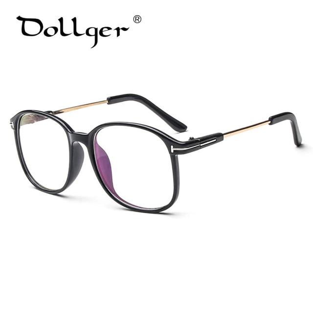 77ba5278371 Fashion Square Eyeglasses transparent Big frame Metal Eyeglass Frame For Women  Men Glass Eyewear Spectacle wholesale