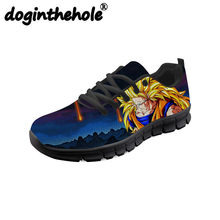7e24c6a5dc Doginthehole Dragon Ball Z Figurines Goku Impression Anime Hommes  Chaussures de Course Sport Sneakers pour Adolescent. 10 Couleurs Disponibles
