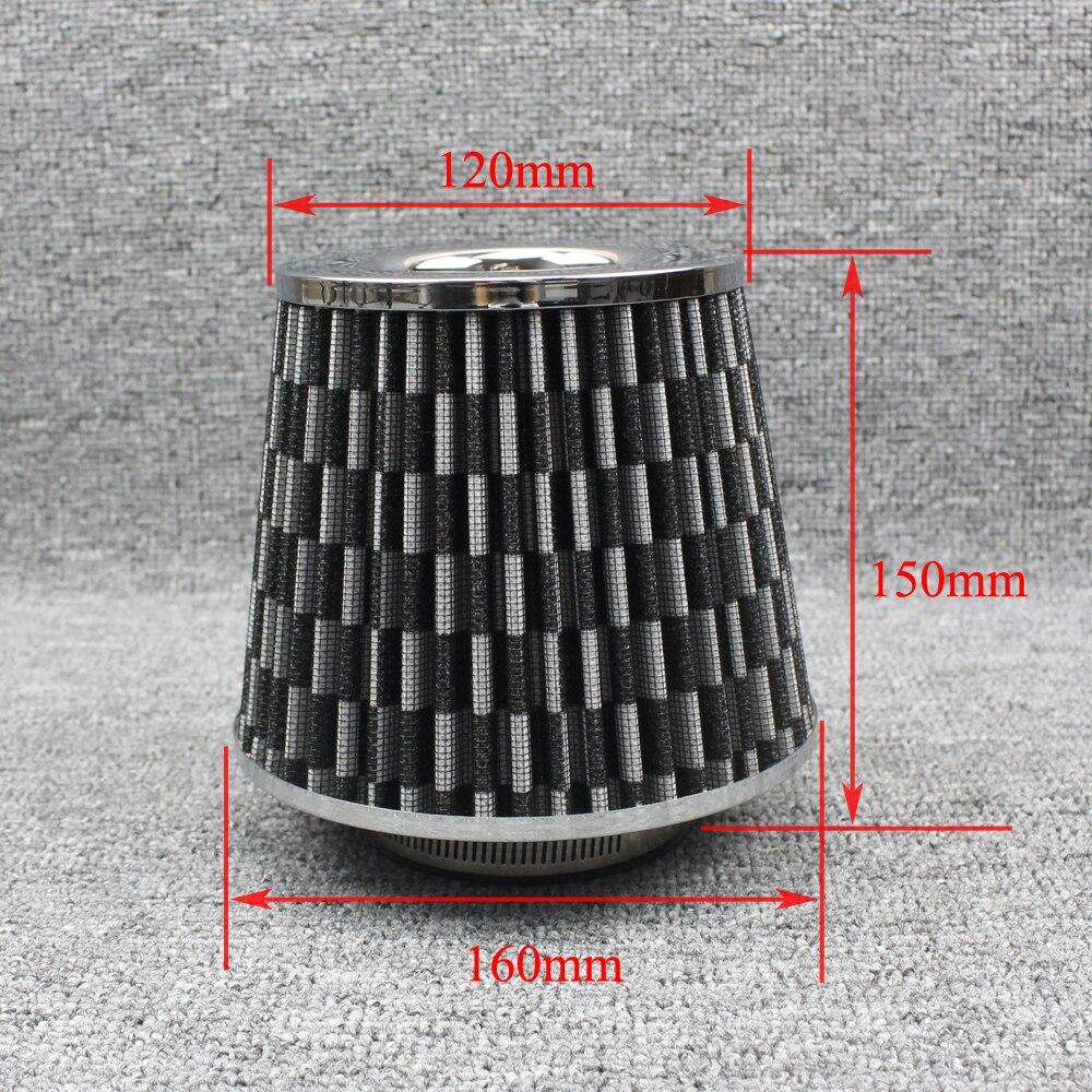 100mm KIMISS Universal Car Air Intake Filters Air Cleaners