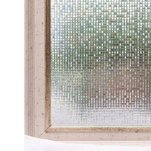 Funlife 45x100cm vinyl static Cling window film bedroom bathroom glass stickers 3D mosaic home decoration