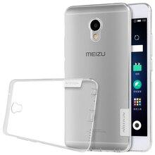 Nillkin Nature прозрачный мягкий Силиконовый ТПУ Protector чехол для Meizu M3e чехол (5.5 дюймов) упаковки