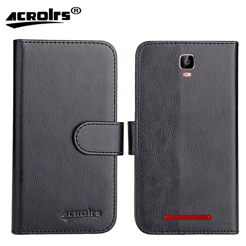 Digma Hit Q500 3G Case 2017 6 Colors Dedicated Flip Leather Exclusive 100% Special Phone Cover Cases Card Wallet+Tracking