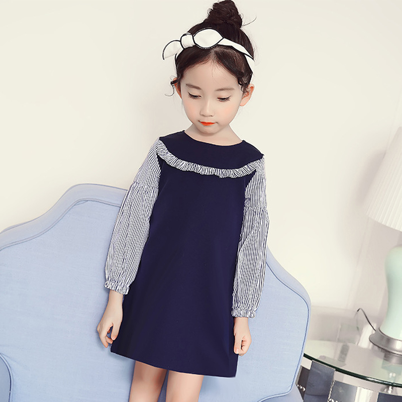 little girls patchwork dresses baby girl autumn dress long sleeve spring 2018 big girls dresses size 34567 8 9 10 11 to 12 years 3 colors short and long sleeve plus size women dress 2016 autumn casual dresses patchwork pencil dress