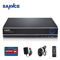 SANNCE 4CH 720P Security Standalone DVR H 264 Realtime HDMI Output Quick QR Code Scan And