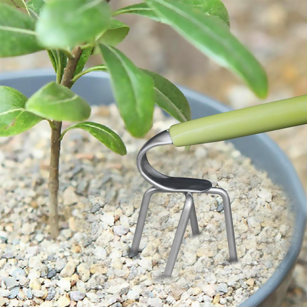 Hand-held Garden Ripper Loose Soil Tillage Tools Tiller Cultivator