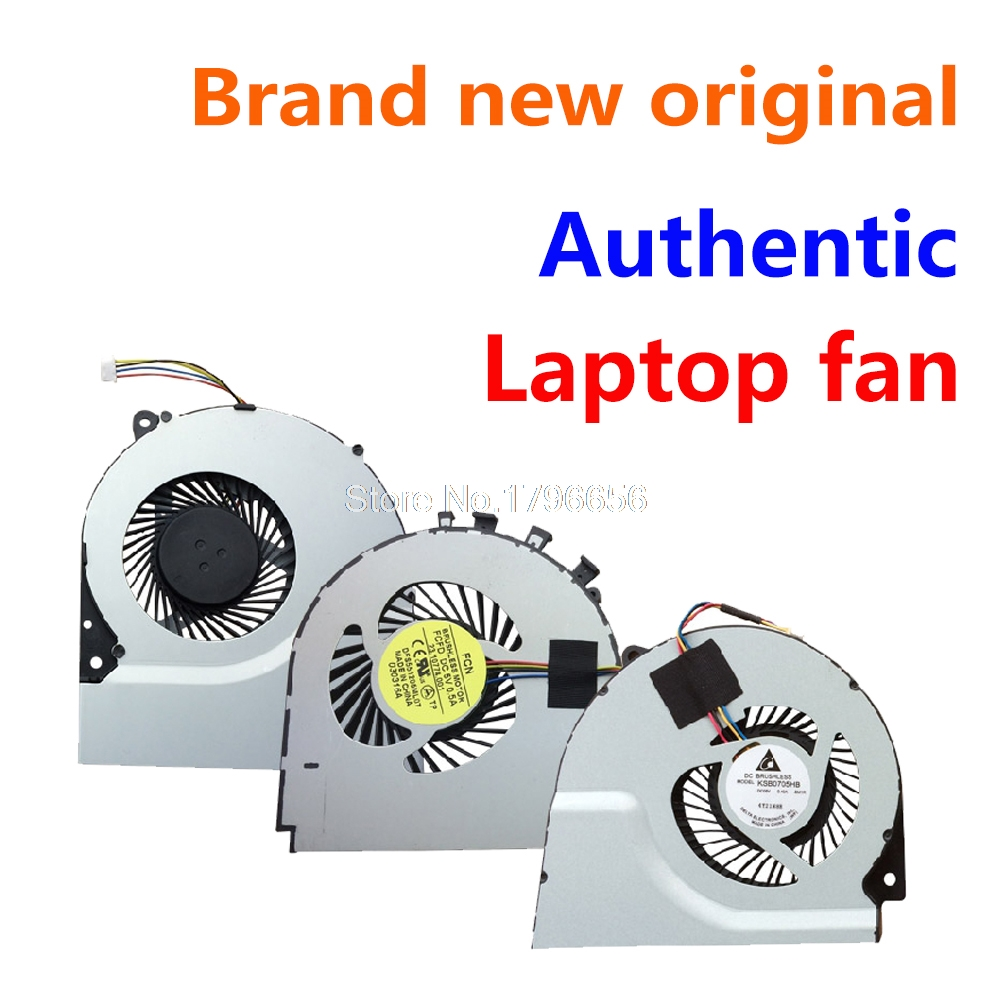 New CPU Cooling Cooler Fan For Asus X71 X71S N90 N70 M70 F90SV F70SL G71 G71GX G71G M70SV M70V X75VC X75V X75A KDB0705HB nre m70 latitude d810 notebook fan gb0506phv1 a