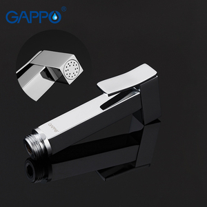 Image 2 - Gappo bidet faucet Bathroom bidet shower set Shower faucet toilet bidet muslim shower Brass wall mounted washer tap mixer G7207