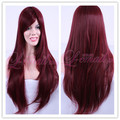Beautiful Auburn Long Straight Charming  Lady's Fashion Wig C30B