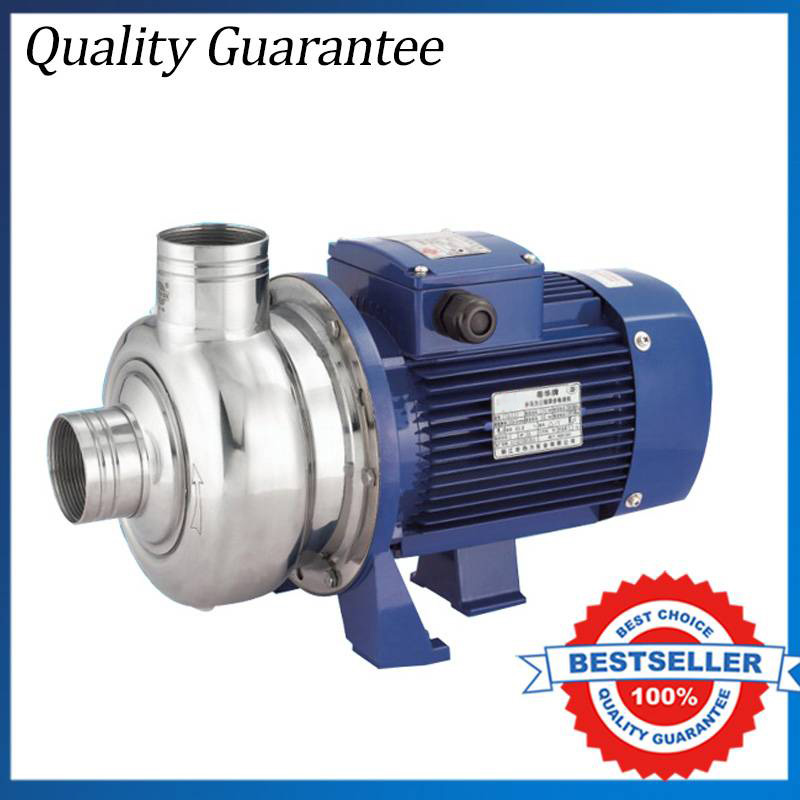 BK300 P 380V 220V 50Hz Three Phase Stainless Steel Centrifugal Water Pump Dishwasher Pump 2 2kw