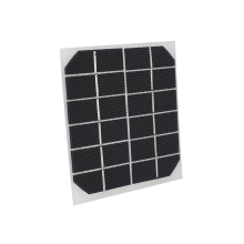 Cewaal 2W 6V Module Solar Panel 120*110mm Solar Cells Monocrystalline Silicon Environmental Powered Solar Charging