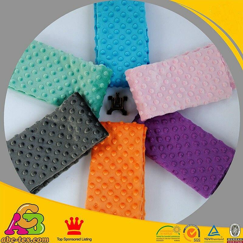 Ѕесплатная доставка точка minky части размер 45 см * 45 см цвет смешанная цена на 6 шт./лот мягкий minky Dot ткань для или детские одеяла где купить Minky ткань