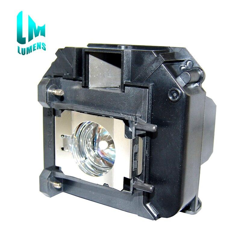 Lamp With Original Burner Inside  For ELPLP60 V13H010L60 For Epson EB-905 EB-93 EB-93E EB-95 EB-96W EB-420 EB-425W With Housing