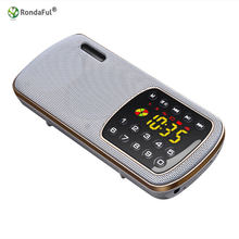 MINI Card Speaker Portable Audio MP3 Player Radio Support Card Reader Sound Card for Olders Wireless Column Receptor Bluetooth