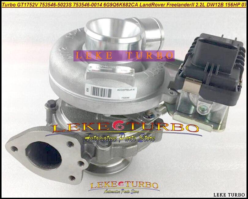NEW Original Turbo GT1752V 753546 753546 5023S 753546 0014 6G9Q6K682CA For Land Rover Freelander II 2