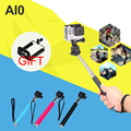 Handheld Extendable Selfie Stick with Tripod Mount Adapter For Gopro Hero 4 3 3+ 4 Session SJ4000 SJ5000 Xiaoyi Accessories