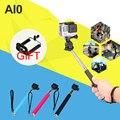 Selfie stick de mano extensible con adaptador de montaje de trípode para gopro hero 4 3 3 + 4 session sj4000 sj5000 accesorios xiaoyi