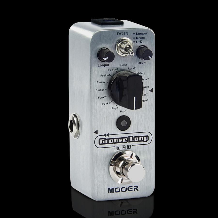 MOOER Groove Loop pedal de guitarra LOOPER DRUM LOOPER DRUM guitar pedal