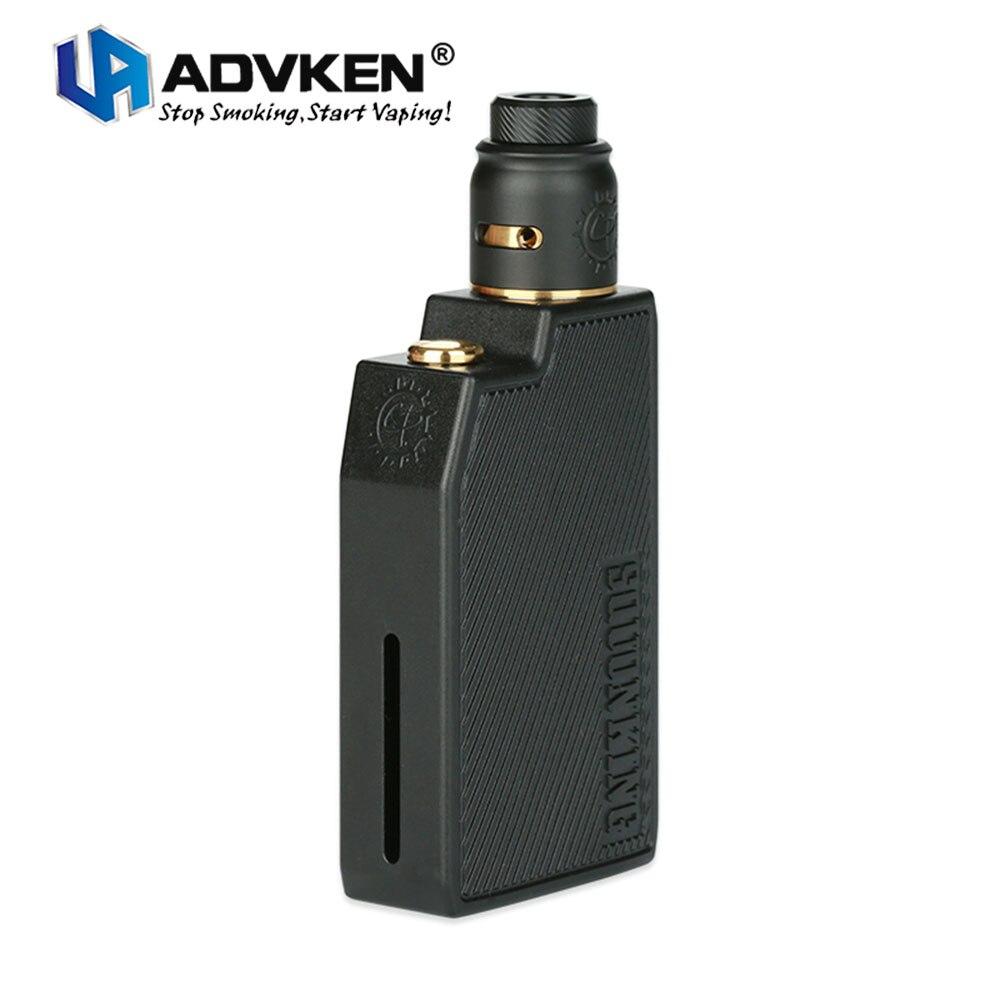 Nuovo Originale Advken CP Squonking Kit W/CP Squonk MOD & 22mm 2 ml CP RDA Atomizzatore Premendo kit di ricarica Senza Batteria E-cig Squonk