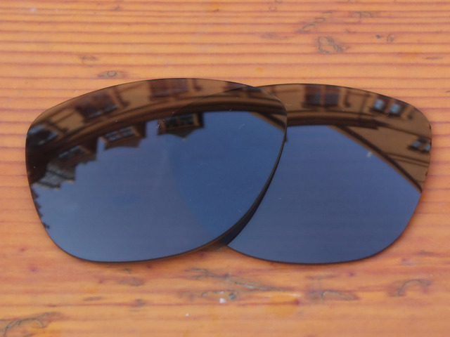 25282e6f9f Polycarbonate-Black Replacement Lenses For Frogskins Sunglasses Frame 100%  UVA   UVB Protection