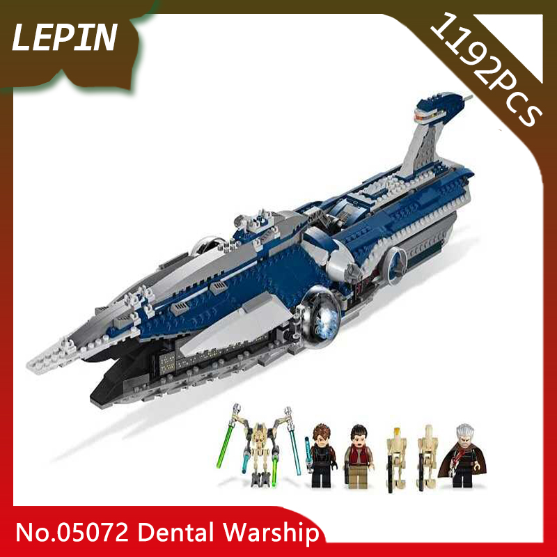 Lepin 05072 The Limited Edition Malevolence Warship Set Children Star classic Wars 1192pcs Building Blocks Bricks Model legoed new lepin 16009 1151pcs queen anne s revenge pirates of the caribbean building blocks set compatible legoed with 4195 children