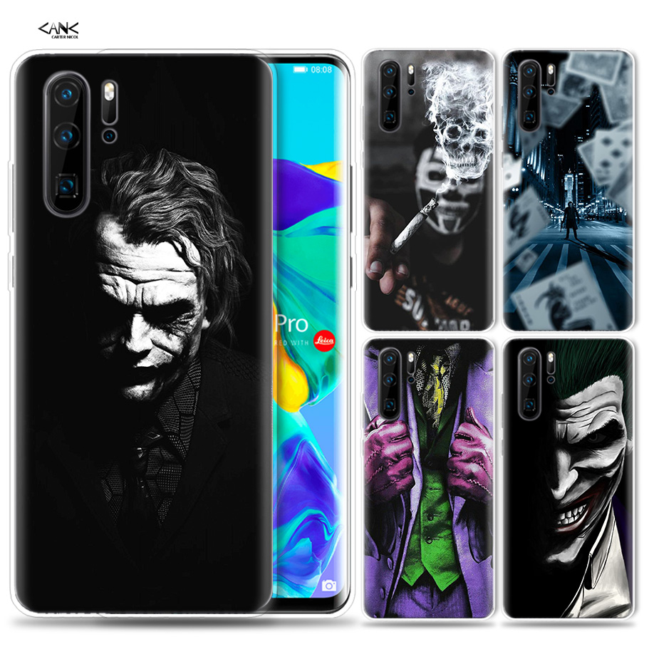 Fall für <font><b>Huawei</b></font> P30 <font><b>P20</b></font> P10 P9 <font><b>Mate</b></font> 10 20 <font><b>Lite</b></font> Pro Mobile Handy Tasche P Smart Z 2019 plus Batman Joker Dark Schwarz Ritter P8 P image