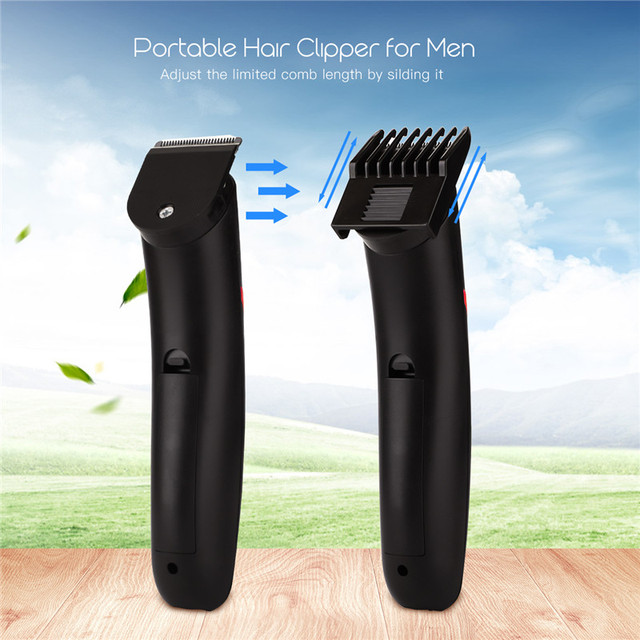 Portable Rechargeable Hair Clipper Electric Cordless Mini Hair Trimmer Pro Hair Cutting Machine Beard Trimer For Men Barber 4041 2
