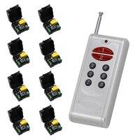 AC 220V 1CH Wireless Remote Switch 1 CH Universal Wireless Remote Control Switch Relay Module With