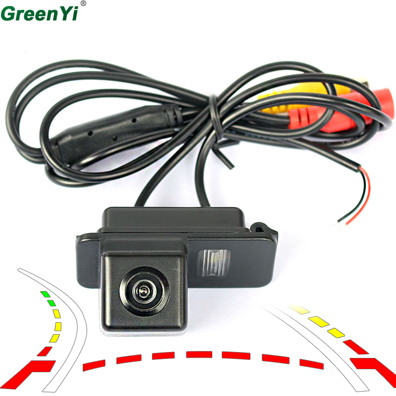 Reversing Trajectory Tracks Car Back Up Rear View Reverse Parking Camera For FORD MONDEO/FIESTA/FOCUS HATCHBACK/S-Max/KUGA