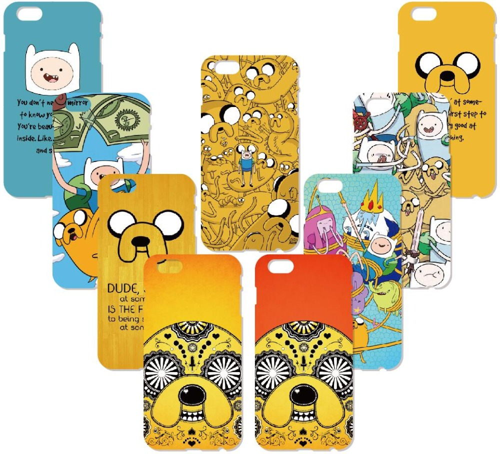 Print Adventure Time Cover For iphone X 4 4S 5 5S SE 5C 6 6S 7 8 Plus For iPod Touch 5 6 Hard Phone Case Capa Coque Shell Fundas