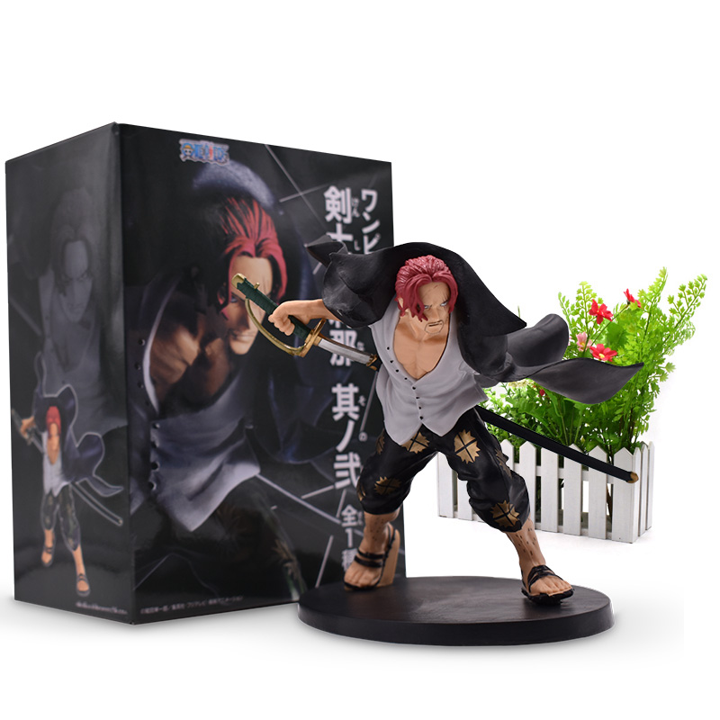 15 Cm Hot Toy Anime One Piece Pirates Shanks Figure PVC Action Figure Collectible Model Christmas Gift Baby Toys For Children