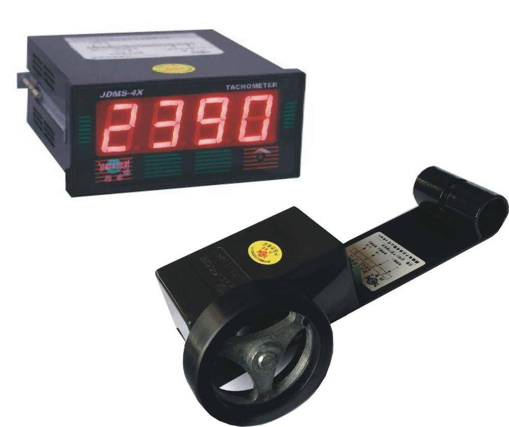 JDMS-4HDZ+LK-70 LED digital tachometer rpm speed meter and speed counter стоимость