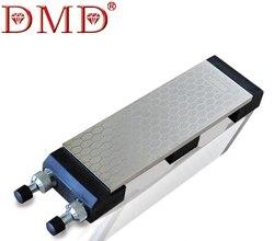 DMD dubbelzijdig 400 & 1000 # fijn slijpen whitestone diamant messenslijper diamant mes grinder met de basis