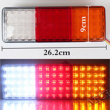 75 LED Tail Lights Car Trailer Truck Boat Rear Stop Reverse 12V Indicator Lamp(China)